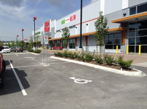 Accessible Parking at Adjacent Business
