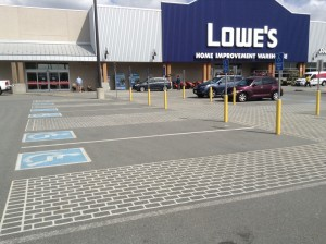 Lowe's Exemplary Accessible Parking