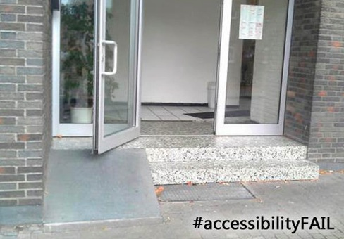 Accessibility Fails Ramps Living With Disability And
